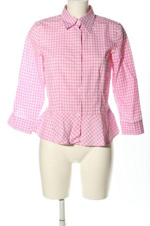 Ralph Lauren Camicia da boscaiolo rosa-bianco stampa integrale stile casual