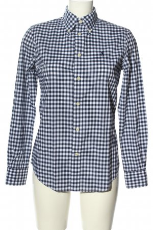 Ralph Lauren Holzfällerhemd weiß-schwarz Karomuster Casual-Look