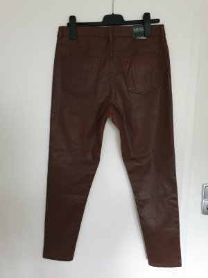 Ralph Lauren Leather Trousers brown