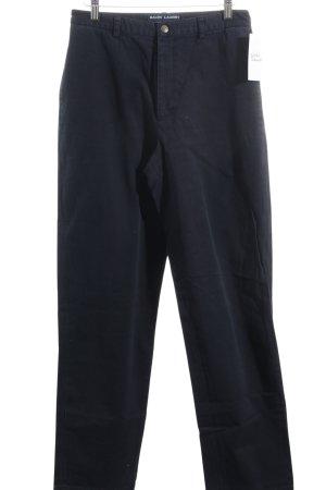 Ralph Lauren Trousers dark blue casual look