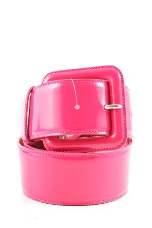 Ralph Lauren Hüftgürtel pink Street-Fashion-Look