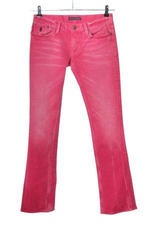Ralph Lauren Hüftjeans pink Casual-Look