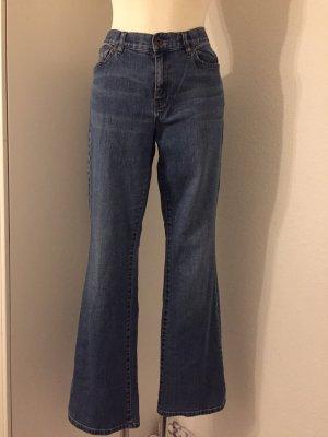 Lauren Jeans Co. Ralph Lauren Jeans a vita alta blu