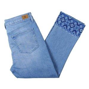 Lauren by Ralph Lauren Jeans a 7/8 blu fiordaliso-azzurro Cotone