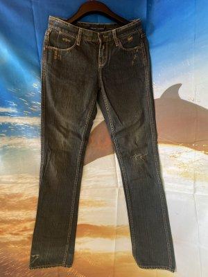 Ralph Lauren Vaquero de corte bota azul oscuro