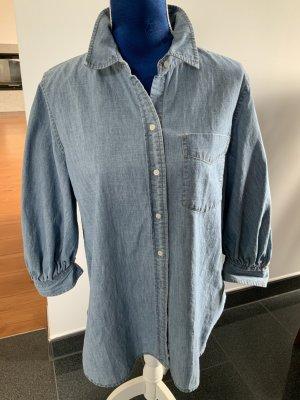 Lauren by Ralph Lauren Blouse en jean bleu azur coton