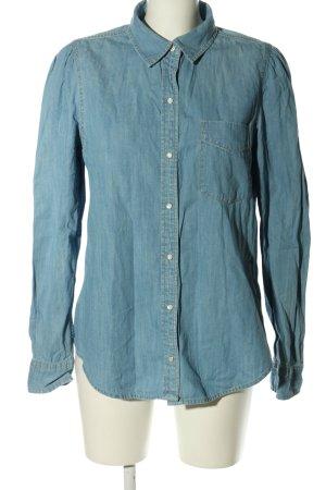 Ralph Lauren Camicia denim blu stile casual