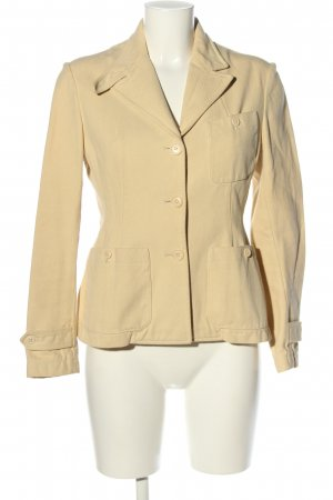 Ralph Lauren Denim Jacket cream casual look