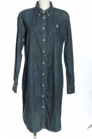 Ralph Lauren Vestido vaquero azul look casual