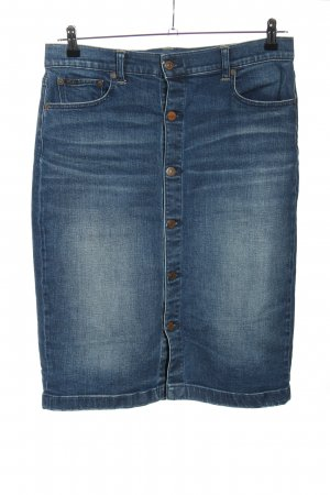 Ralph Lauren Jeansrock blau Street-Fashion-Look