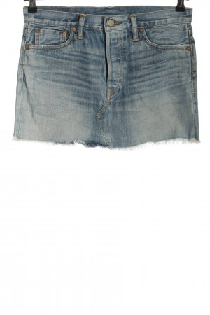Ralph Lauren Gonna di jeans blu stile casual
