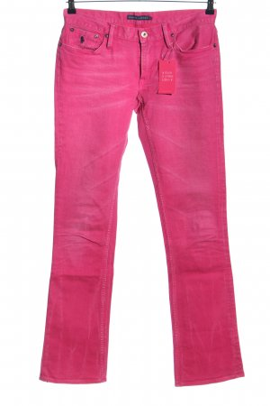Ralph Lauren Vaquero acampanados rosa look casual