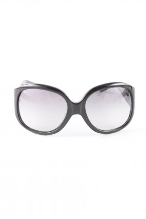 Ralph Lauren Vierkante bril zwart casual uitstraling