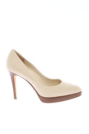 Ralph Lauren Classic Court Shoe natural white elegant
