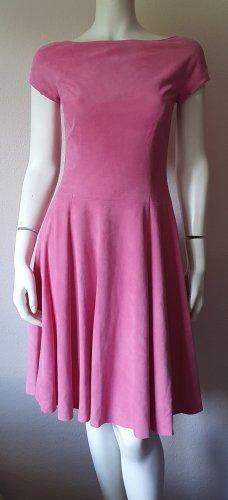Ralph Lauren Leather Dress dusky pink