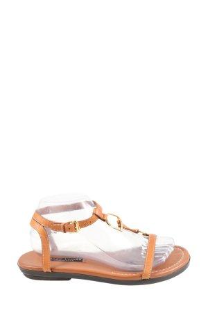 Ralph Lauren Comfortabele sandalen licht Oranje casual uitstraling