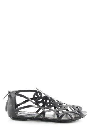 Ralph Lauren Comfort Sandals black casual look