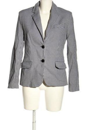 Ralph Lauren Short Blazer black-white check pattern business style