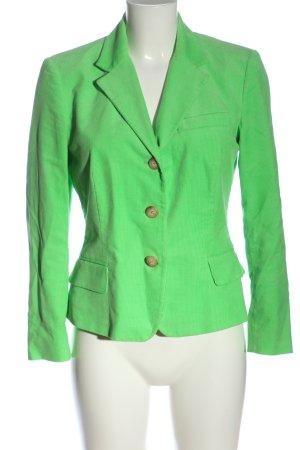 Ralph Lauren Korte blazer groen zakelijke stijl