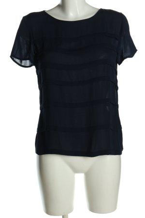 Ralph Lauren Short Sleeved Blouse blue casual look