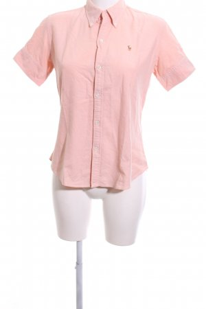 Ralph Lauren Kurzarm-Bluse pink Business-Look