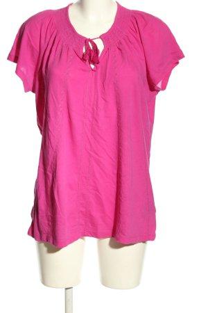 Ralph Lauren Bluzka z krótkim rękawem różowy W stylu casual