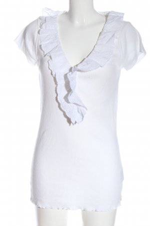 Ralph Lauren Short Sleeved Blouse white casual look