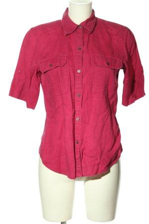 Ralph Lauren Kurzarm-Bluse pink Casual-Look