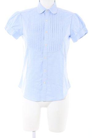 Ralph Lauren Kurzarm-Bluse blau Casual-Look