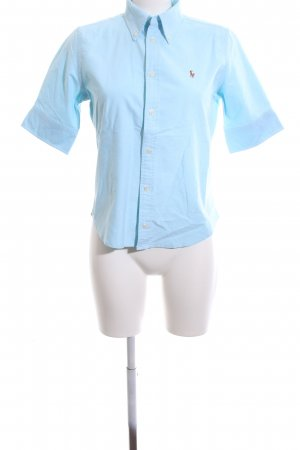 Ralph Lauren Kurzarmhemd blau Business-Look