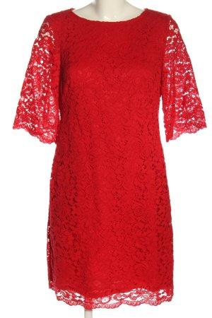 Ralph Lauren Kurzarmkleid rot Elegant