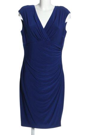Ralph Lauren Kurzarmkleid blau Elegant
