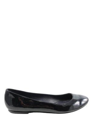 Ralph Lauren Patent Leather Ballerinas black casual look