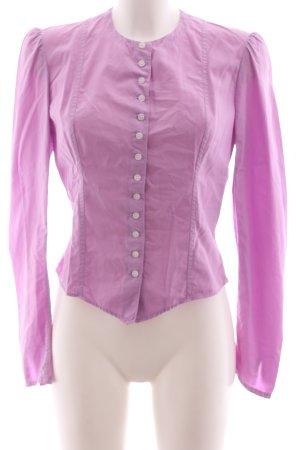 Ralph Lauren Langarm-Bluse pink Business-Look