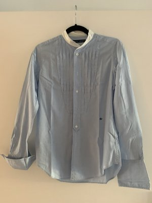 Polo Ralph Lauren Camicetta a maniche lunghe bianco-azzurro Cotone