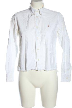 Ralph Lauren Camisa de manga larga blanco look casual