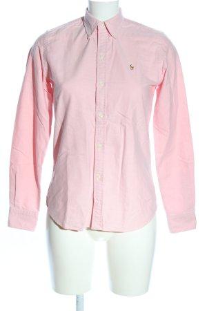 Ralph Lauren Langarmhemd pink Business-Look