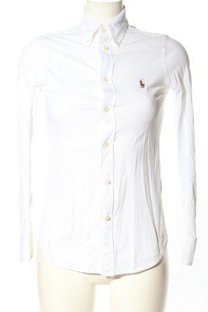 Ralph Lauren Shirt met lange mouwen wit casual uitstraling