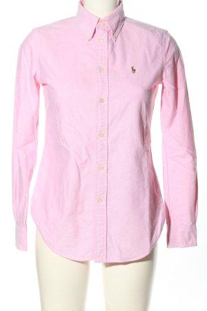 Ralph Lauren Camicia a maniche lunghe rosa stile casual