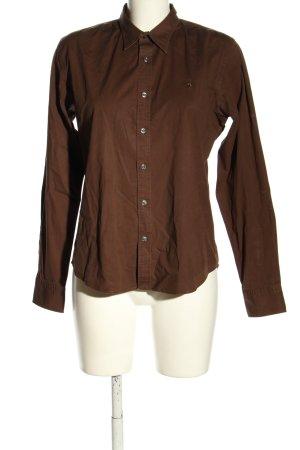Ralph Lauren Long Sleeve Shirt brown business style