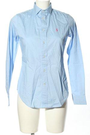 Ralph Lauren Camicia a maniche lunghe blu stile professionale