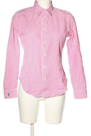 Ralph Lauren Koszula z długim rękawem różowy-biały Wzór w paski