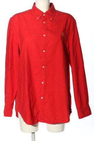 Ralph Lauren Langarmhemd rot Casual-Look