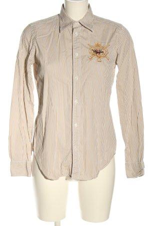 Ralph Lauren Langarmhemd creme Allover-Druck Business-Look