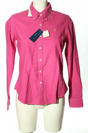 Ralph Lauren Chemise à manches longues rose style décontracté