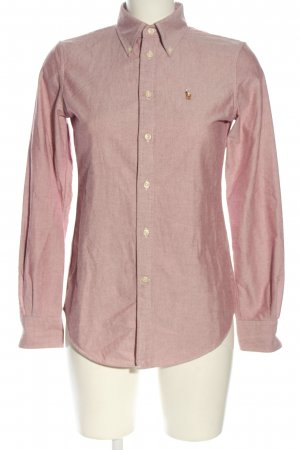 Ralph Lauren Langarmhemd pink meliert Business-Look