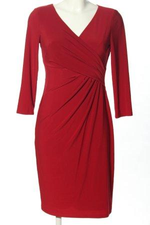 Ralph Lauren Abito a maniche lunghe rosso elegante
