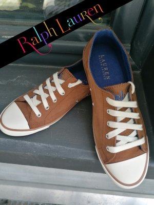 Ralph Lauren Leder Sneaker