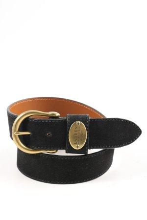 Ralph Lauren Cintura di pelle nero stile casual
