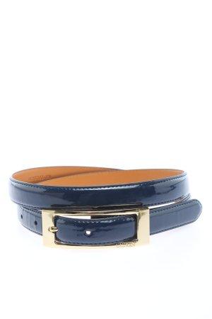 Ralph Lauren Cinturón de cuero de imitación azul look casual